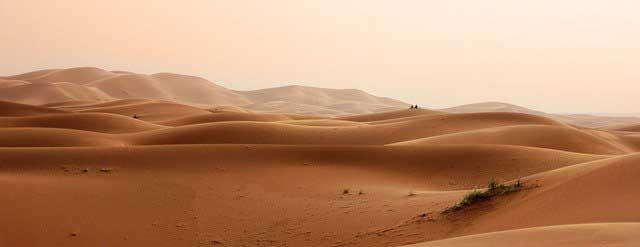 Sahara - die größte Wüste der Welt