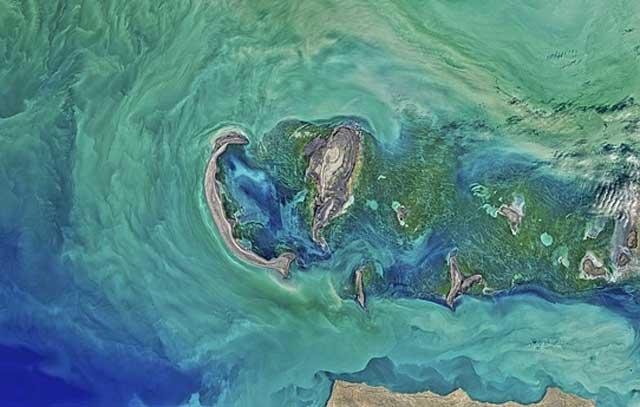 Das Kaspische Meer - der größte natürliche Binnensee