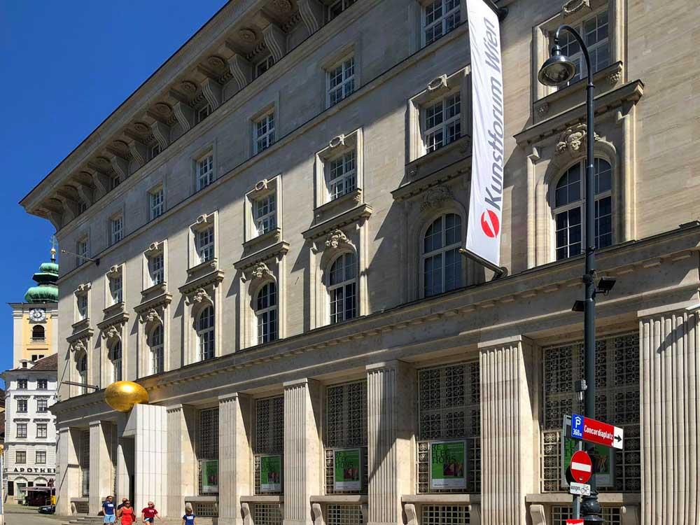 Bank Austria Kunstforum Wien (Copyright: Erdkunde-online.de)