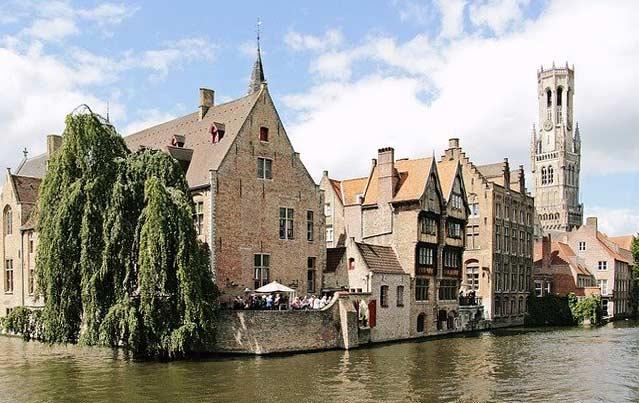 Brügge- Hauptstadt der Provinz Westlandern in Belgien
