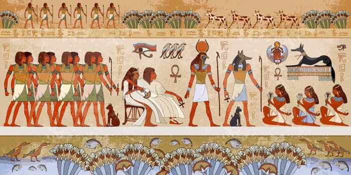 Gottheiten und Pharaonen im alten Ägypten