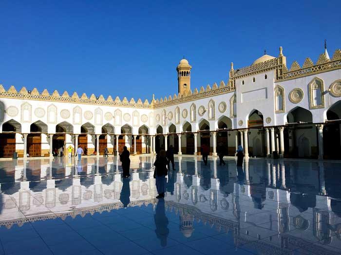 Al-Azahr Moschee in Kairo