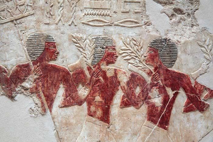 Ägyptische Kunst - Männer bei der Arbeit