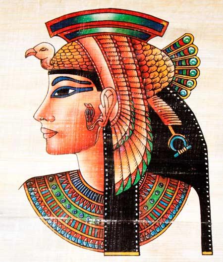 Ägyptische Papyrosmalerei de.depositphotos.com