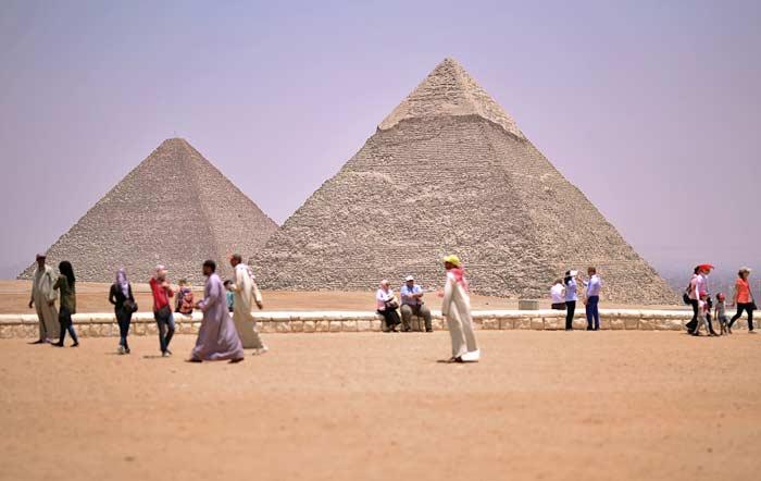Ägyptische Pyramiden Kairo - Gizeh