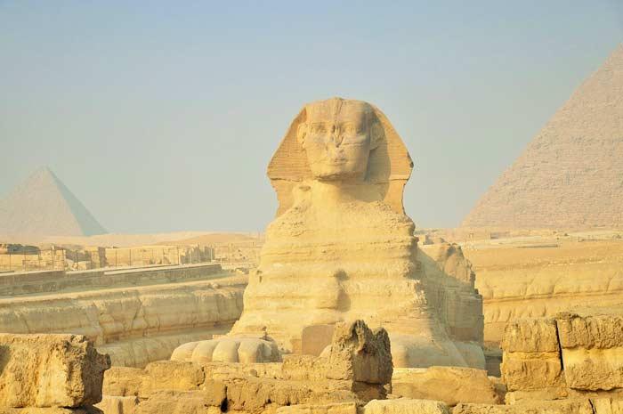 Sphinx und Pyramiden Gizeh