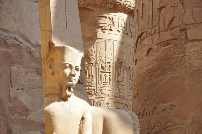 Pharao Tempel in Ägypten