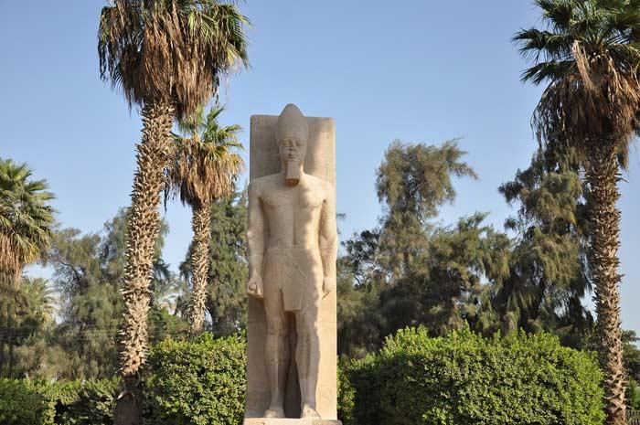 Ramses II. in Memphis Ägypten