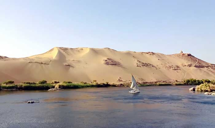 Der Nil bei Assuan