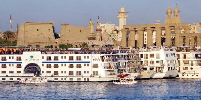 Nil - Kreuzfahrten zum Luxor Tempel